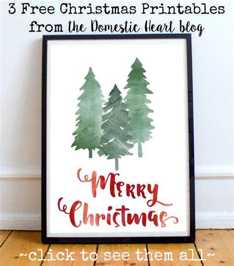 printable christmas posters cards 25 free christmas printables my mommy style