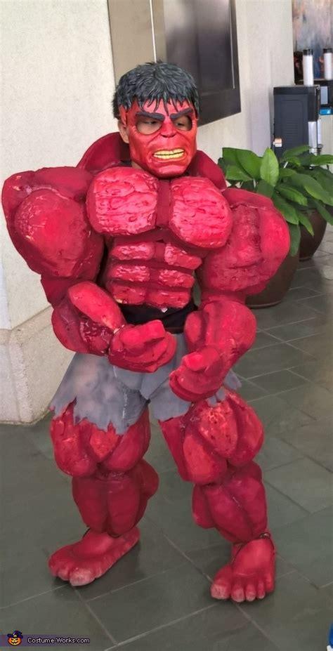 red hulk costume
