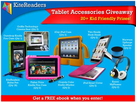 Where To Get Free Ebooks To Giveaway - sp kid friendly tablet accessories giveaway get a free ebook when you enter the