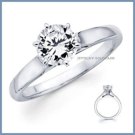 imagenes de anillos de compromiso en oro blanco cl 225 sico anillo de compromiso en oro blanco 10k envio