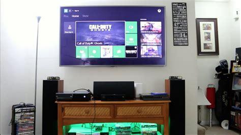 gaming setup  xbox  ps macbook pro home