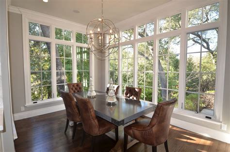 No Dining Room Room With No Windows Dining Room Traditional With Large Windows Igf Usa