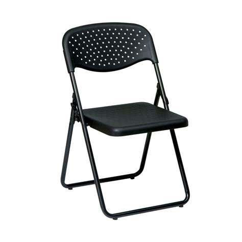 Black Plastic Folding Chairs by Cosco Blue Folding Chair Set Of 4 14301blu4e The