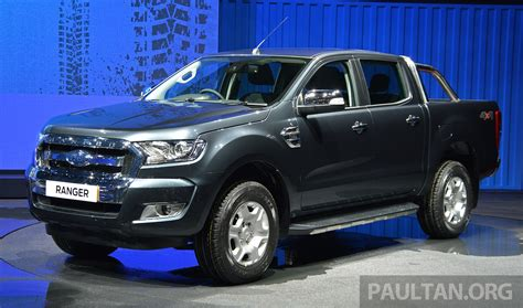 ford ranger 2015 2015 ford ranger makes world debut in thailand image 320438