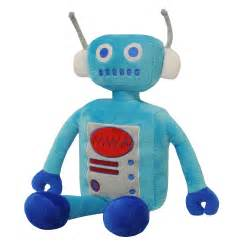 Duvet Stores Paoletti Robot Plush Toy In Blue Next Day Select Day