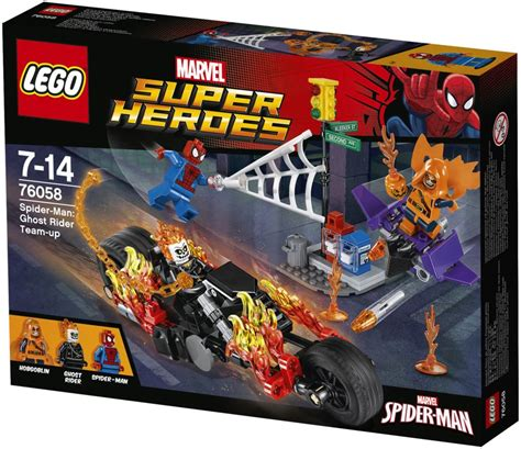 review lego 76058 spider ghost rider team up