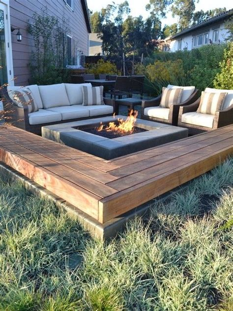 fire pit and bench outdoorsey pinterest
