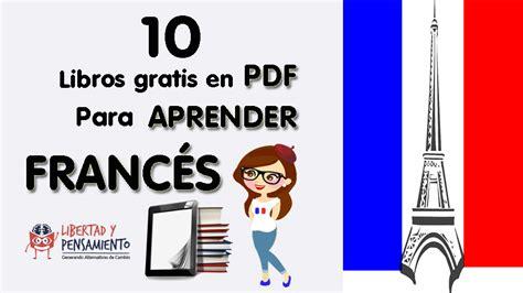 libro ejercicios de francs para 10 libros gratuitos en pdf para aprender franc 233 s