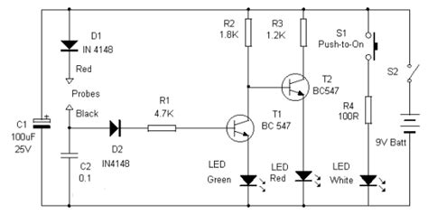 testing a resistor in circuit test multiteste leds polarity continuity resistance circuit electronic circuits diagram