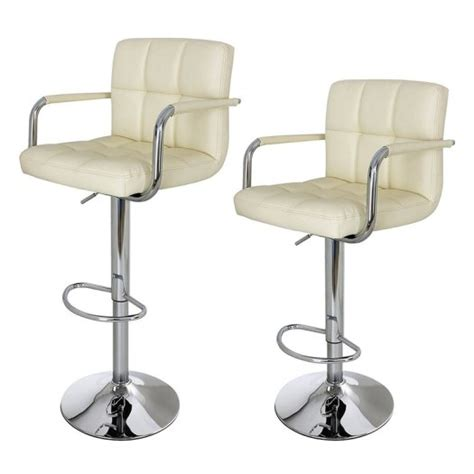 white breakfast bar stools breakfast bar stools set of two faux leather stool white
