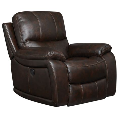 overstock leather recliners art van power recliner overstock shopping big
