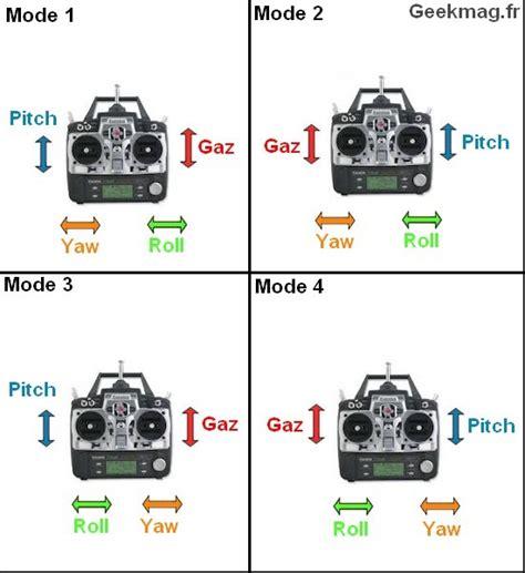 one modes quadricopt 232 re fonctionnement configuration et pilotage rc