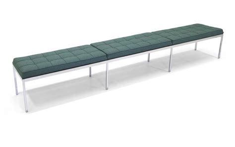 long upholstered bench florence knoll long upholstered bench for sale at 1stdibs