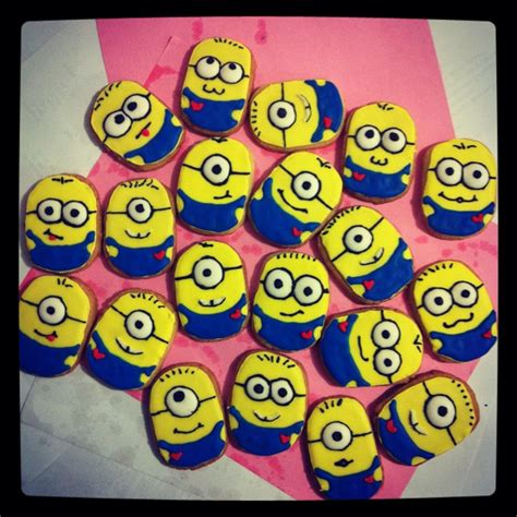minion cookies my minion cookies 3 cakes despicable me