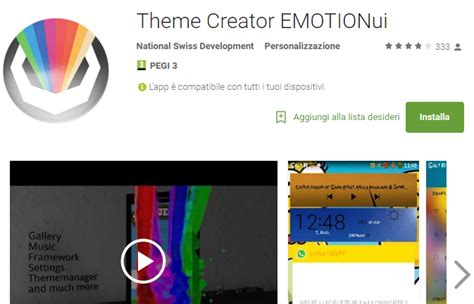 theme creator android online theme creator emui disponibile su play store