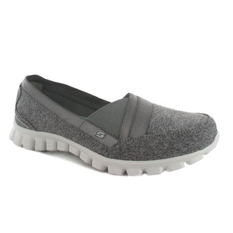 Skecers Womens Ez Flex 2 Navy skechers 22827 ez flex 2 s shoe in grey navy