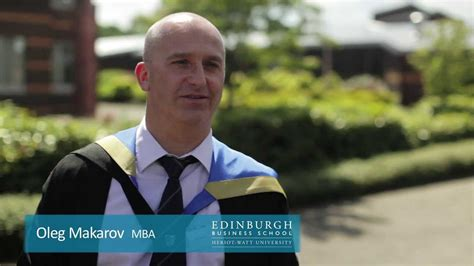 Edinburgh Business School Mba by Edinburgh Business School Russian Graduate 2013 Oleg