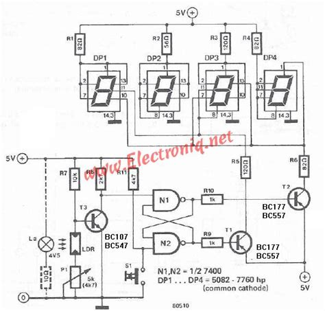 electronic circuit projects warning mailbox electronic project circuit design