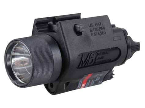 glock 17 light and laser insight tech gear m6 tactical illuminator flashlight mpn