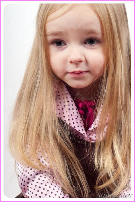 cute hairstyles color long hair long haircuts for little girls stylesstar com
