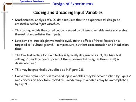 design of experiments effect size design of experiments