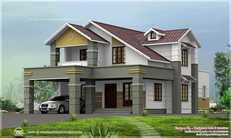 Home Design 2200 Sq Ft House Design In 8 Cent Plot Home Kerala Plans