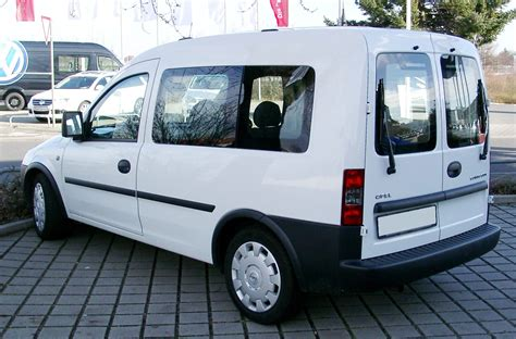 opel combo 2008 file opel combo rear 20080123 jpg wikimedia commons