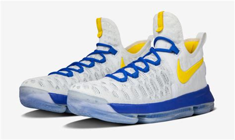 These nikeid kd 9 quot warriors quot colorways are available now nice kicks