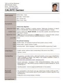 best photos of download recent resume templates free