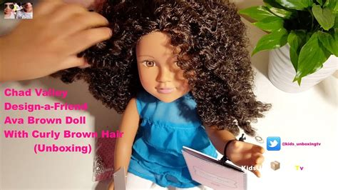 design a friend doll youtube chad valley design a friend ava brown doll with curly