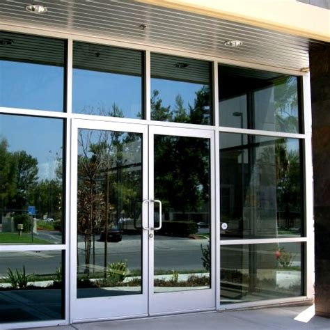 Aluminium Exterior Doors Glass And Aluminum Doors Personnel Doors Doors