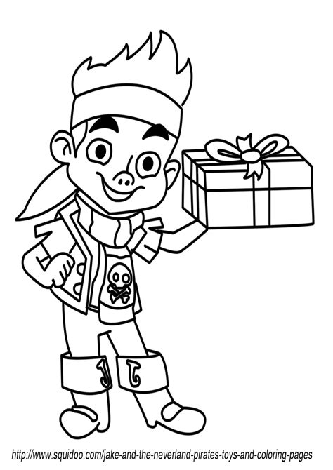 jake and the neverland pirates toys and coloring pages