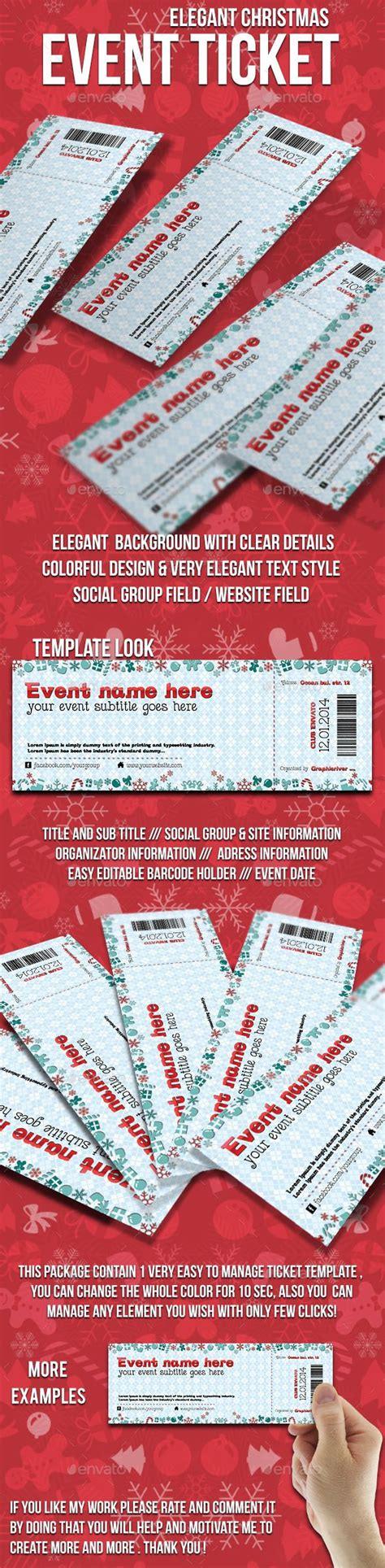 25 Best Ideas About Event Ticket Template On Pinterest Event Tickets Event Ticket Printing Event Ticket Printing Template