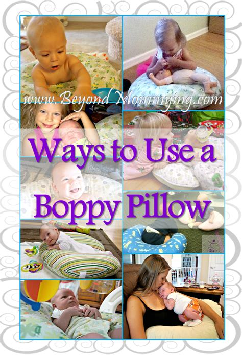 how to use a boppy nursing pillow 10 ways to use a boppy pillow beyond mommying