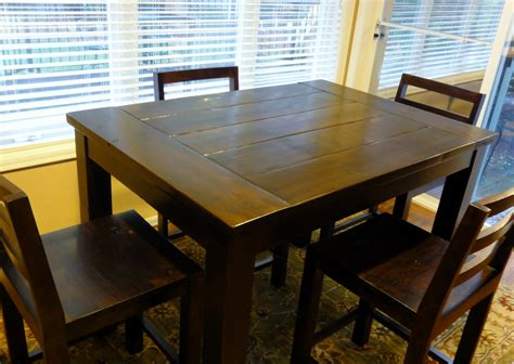 White Tryde Counter Height Kitchen Table Diy Projects