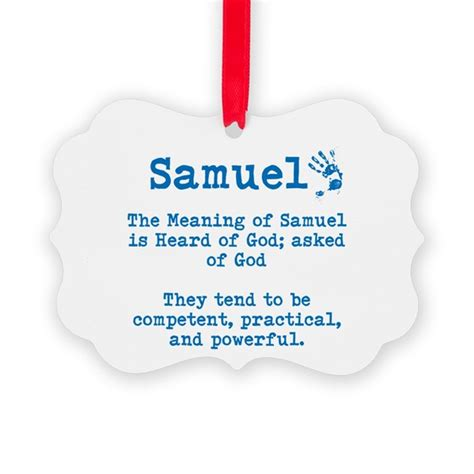 the meaning of the meaning of samuel ornament by itsallinthename