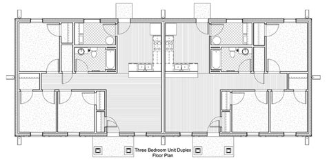 3 bedroom duplex floor plans casa bonita aho architects llc