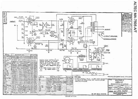 altec lansing  schematic diagram