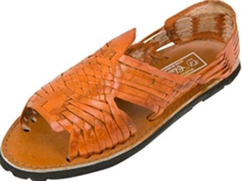 mexican shoes s huarache sandals reddish brown mexican sandals