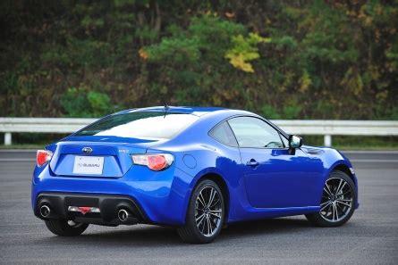 subaru sports cars list 2013 subaru brz revealed at tokyo motor show u s news