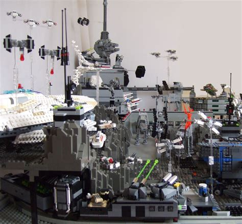 the ultimate lego wars diorama boing boing