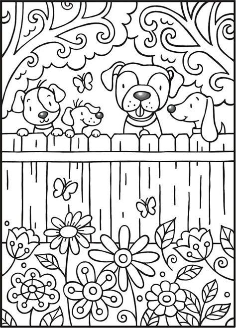 dover publications spark puppy love