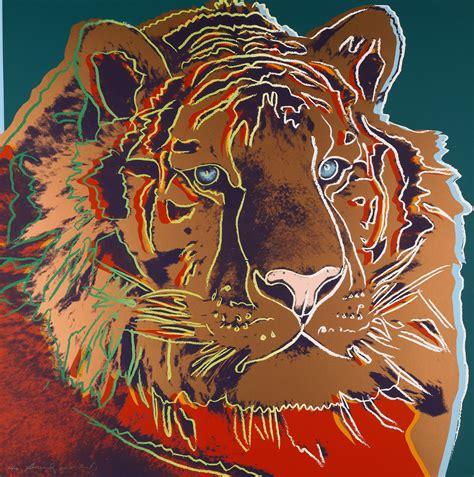 warhol prints warhol s endangered species complete series at sotheby s