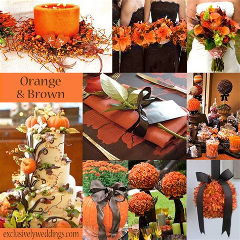 trending orange wedding color ideas for fall 2014 lianggeyuan123
