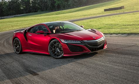 Honda Acura Nsx 2017 acura nsx in depth model review car and driver
