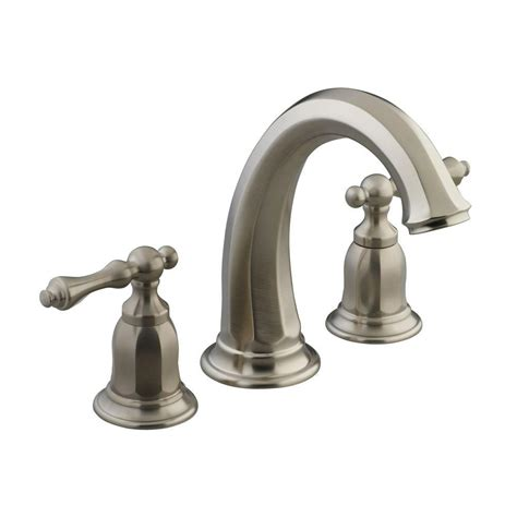 bathtub valves kohler kelston 2 handle deck mount bath tub faucet trim in