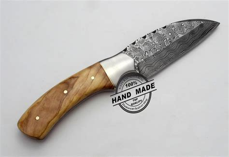 Handmade Kitchen Knife - custom handmade damascus steel professional kitchen chef s