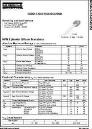 bc datasheet npn general purpose amplifier