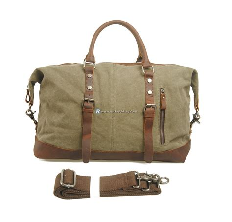 bag large large travel bag canvas bag canvas shoulder bag rucksack bag