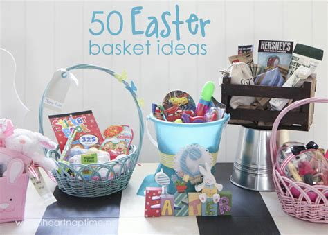 easter basket ideas 50 no candy easter basket ideas i heart nap time